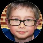 Boy smiling at camera